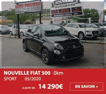 Nouvelle FIAT 500 SPORT 0km