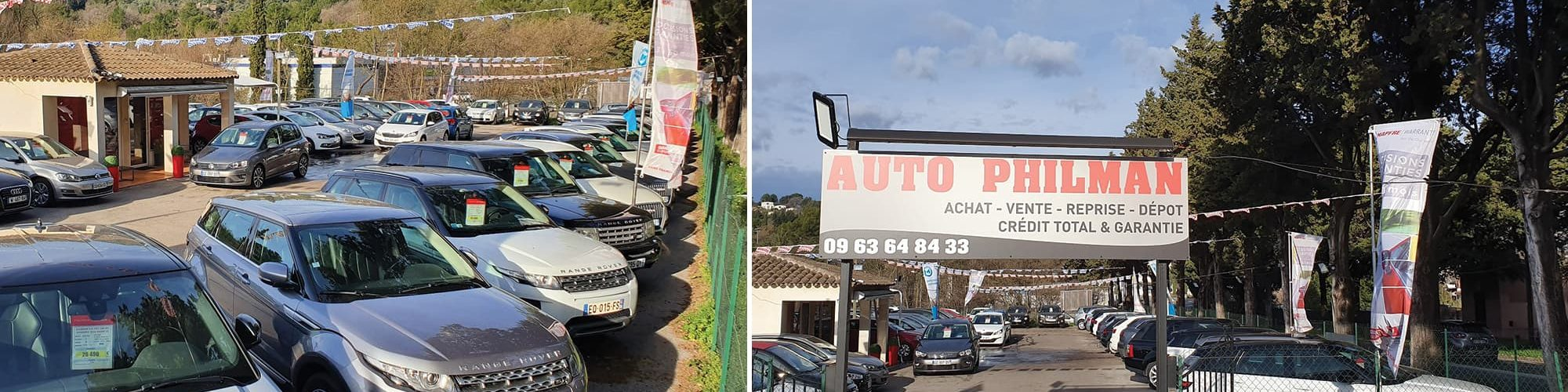Concessionnaire auto multimarques Grasse